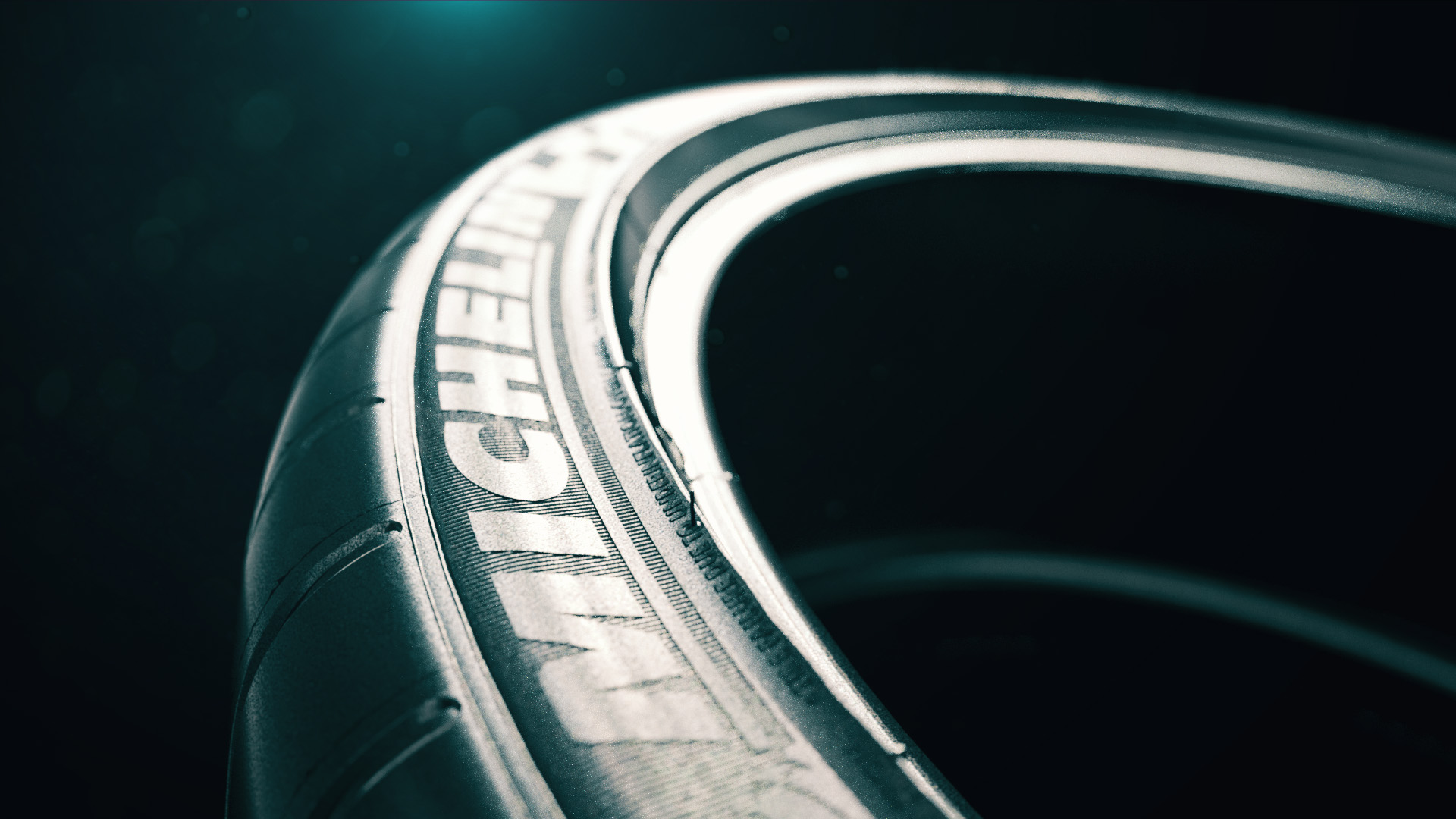michelin tires 3d animation